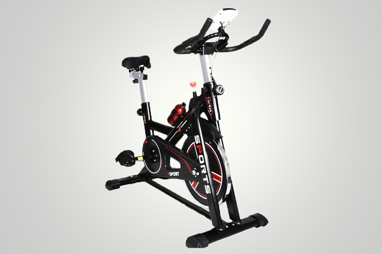 Exercise Spin Bike Indoor Aerobic Training Cycle Fitness Home Gym 8kg Flywheel